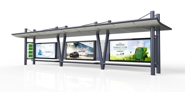 看起来简单的公交候车亭应用了哪些制作工艺?