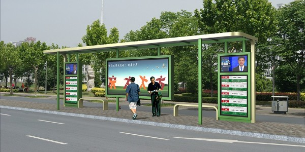 为什么公交候车亭的需求量在增加?