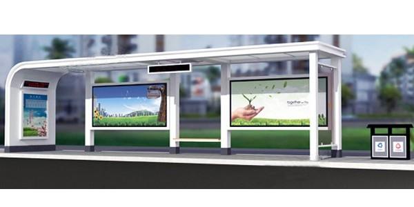 客户比较推荐的公交候车亭技术参数