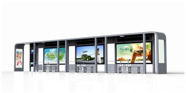 公交候车亭灯箱广告宣传效果如何?