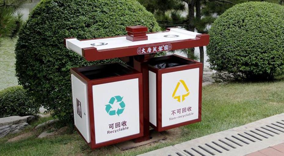 景区垃圾箱