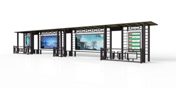 智能公交站台,提升城市品质,增强城市文化内涵