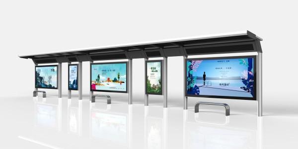 智能公交电子站牌 智慧城市交通建设推动者